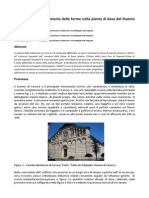 Geometria Sacra Armonia Delle Forme Nella Pianta Di Base Del Duomo Di Carrara