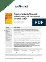 Praxisorientierte Unternehmensplanung Zimmermann d