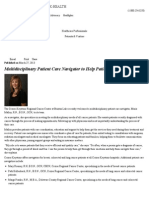 Multidisciplinary Patient Care Navigator to Help Patients at Brinton Lake - Crozer-Keystone Health System - PA