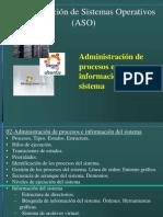 Administracion de Procesos e Informacion Del Sistema