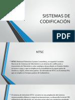 SISTEMAS DE CODIFICACIÓN