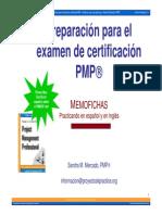 Examen PMP - Estudio en ingles y en español v172