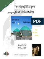4 Lionel TRICOT Methanisation Conference AVEC LE GANTT6T