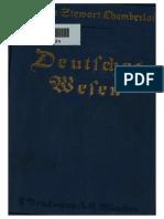 Chamberlain, Houston - Deutsches Wesen - Ausgewählte Aufsätze (1916)