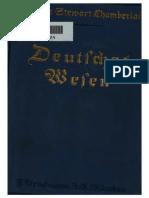 Chamberlain, Houston - Deutsches Wesen - Ausgewählte Aufsätze (1916, Text)