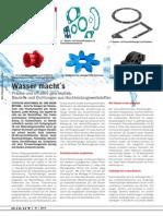 Mit Wasser Schneiden DICHT! 1 2014 SKF