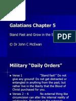 Galatians Chapter 5