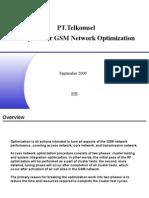 Proposal for GSM Network Optimization & Audit-tsel