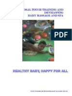 Proposal Workshop Baby Massage and Spa