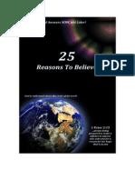 25 Reasons to Believe n Jesus