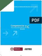MEN Competencias TIC Desarrollo Profesional Docente 2013