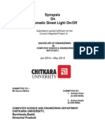 Synopsis of Automatic Street Lightt System