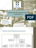 Areas Del Mantenimiento