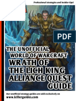 WoW WotLK Quest-Guide Alliance V2