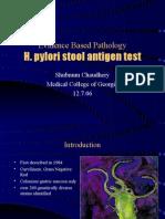 H. Pylori Stool Antigen Test