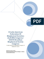 II Latin American Federation of Biophysical Societies