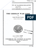THE GERMAN WAR CODE
