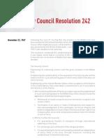 UN Security Council Resolution 242, Appendix A