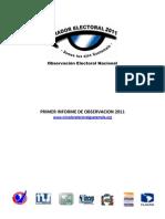 I Informe Mirador Electoral