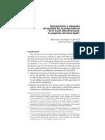 Concepciones y Clausulas de Igualdad en La Jurisprudencia Corte IDH