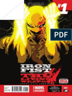 Iron Fist the Living Weapon Exclusive Preview