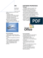 Software Libre vs Propietario