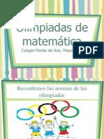 Olimpiada Matemática Mayo