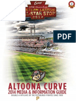 2014 Altoona Curve Media Guide