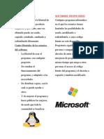 software libre & software propietario