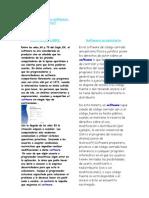 Trabajo Softwate Libre y Software rio