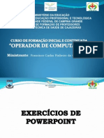 Exercicio PowerPoint