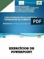 Exercicio PowerPoint