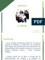 9. La Empresa