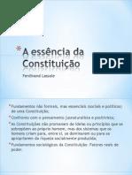 1 - A essência da Constituição