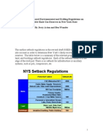 New York Drilling Restrictions by Acton and Wunder