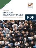 2009 Legatum Prosperity Index Report