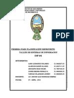 Avance Planificacion - Inf281