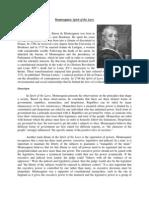 Montesquieu Handout