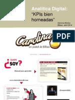 KPIs bien horneadas