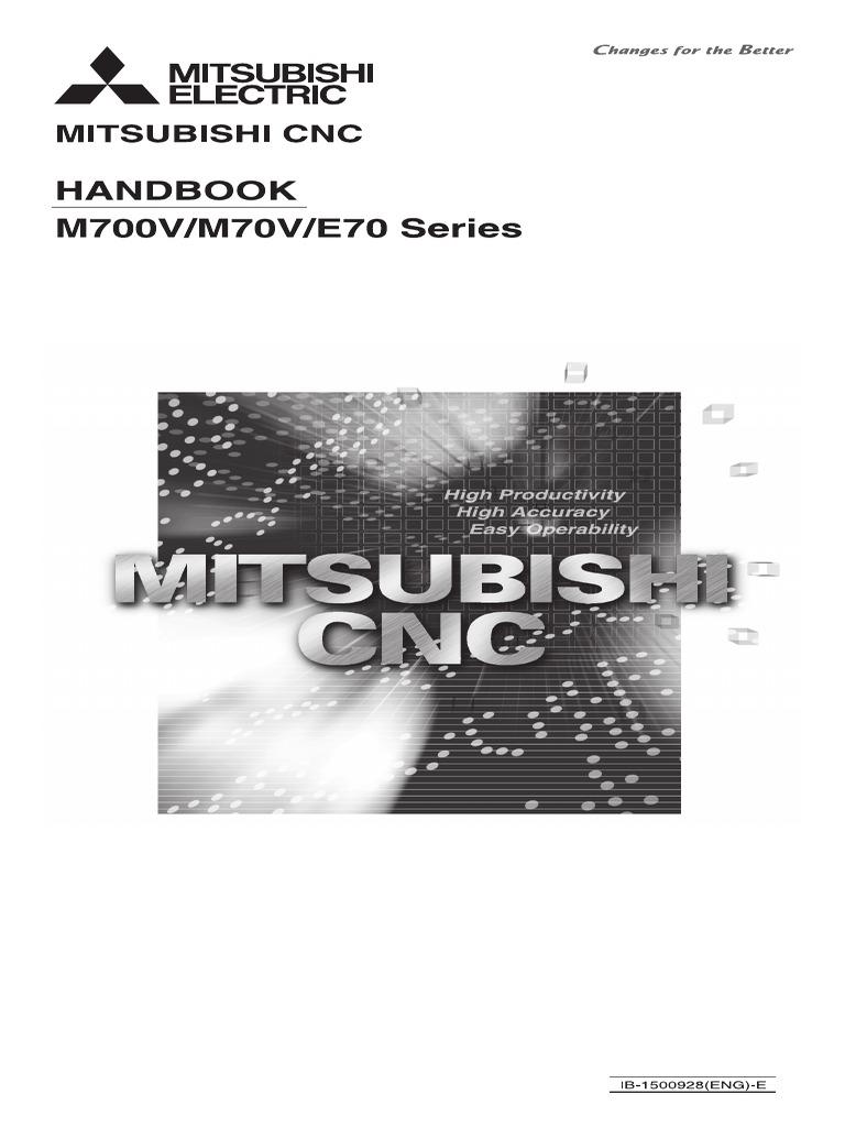 mitsubishi m700 handbook switch parameter computer programming rh scribd com
