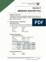2.0 Memoria Descriptiva-Texto