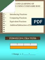 Fraction CuisenRod