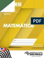 CadernoDoAluno 2014 Vol1 Baixa MAT Matematica EM 1S