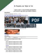 El 'rescate' de España, un 'déjà vu' de Grecia