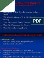 Film Tipis (Kul. 1, 2) PP