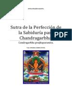 Sutra de la Perfección de la Sabiduría para Chandragarbha