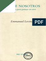 Entre Nous - Levinas