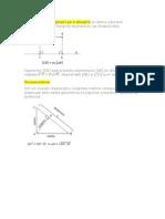 Teoreme in Triunghiul Dreptunghic