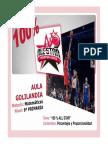 Guia de Investigacion 100 Por 100 All Star Sobre Porcentaje y Proporcionalidad