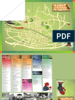 Bandung Tourism Map (City of fashion in Indonesia)
